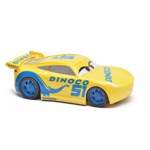 cars машинка гоняй и сталкивайся круз рамирес Машинка Mattel Тачки Крус Рамирес 22 см Желтый