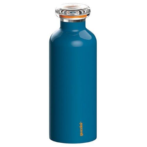 Термобутылка Guzzini On the go, 0.5 л голубой