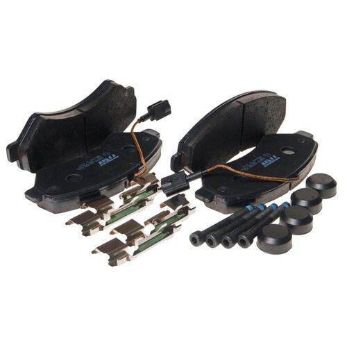 Фото - Дисковые тормозные колодки передние TRW GDB1982 для Peugeot Boxer, Citroen Jumper, Fiat Ducato (4 шт.) дисковые тормозные колодки передние trw gdb3286 для toyota highlander lexus rx 4 шт