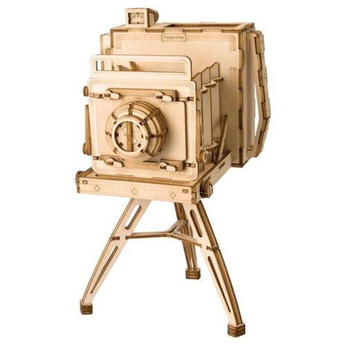 Пазл Robotime 3D Винтажная камера (TG403), 142 дет. robotime 3d пазл ресторан