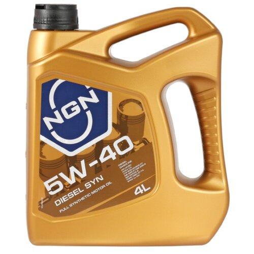 Моторное масло NGN Diesel Syn 5W-40 4 л