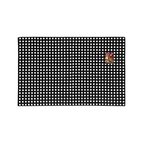 Придверный коврик VORTEX Профи ячеистый, размер: 1.5х1 м, черный цена 2017