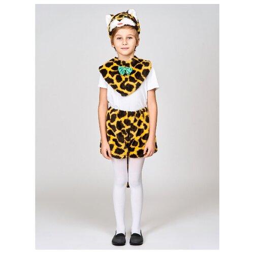 Купить Костюм Радомир Котик (С1009), черный/желтый, размер 104-134, Карнавальные костюмы