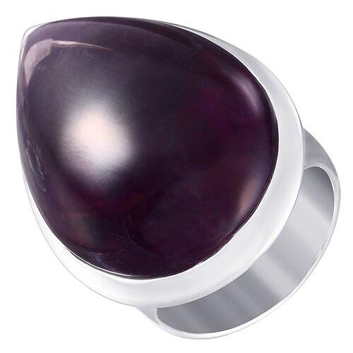 ELEMENT47 Кольцо из серебра 925 пробы с аметистами MR1684_KO_AM_001_WG, размер 18