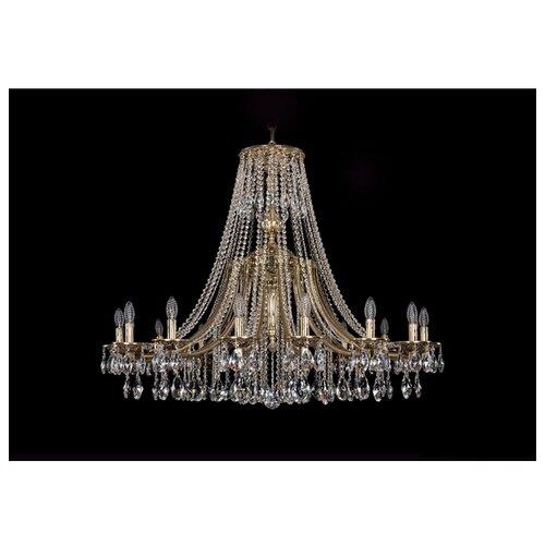 Люстра Bohemia Ivele Crystal 1771 1771/16/410/A/GB, E14, 640 Вт люстра bohemia ivele crystal 1771 1771 16 410 c gb sh37 160 e14 640 вт