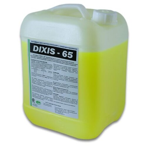 Теплоноситель этиленгликоль DIXIS -65 20 кг теплоноситель для систем отопления dixis 30л