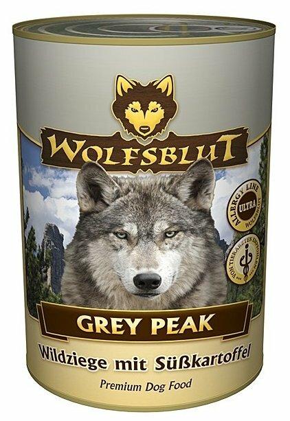 Корм для собак Wolfsblut Консервы Grey Peak (0.395 кг) 1 шт.