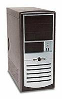 Компьютерный корпус Foxconn TS-01 300W Black/silver
