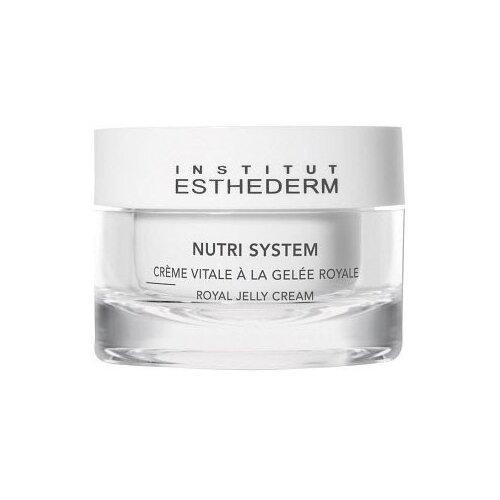 Institut Esthederm Nutri system Cream vitale a la gelee royale питательный биокрем для лица с маточным молочком, 50 мл