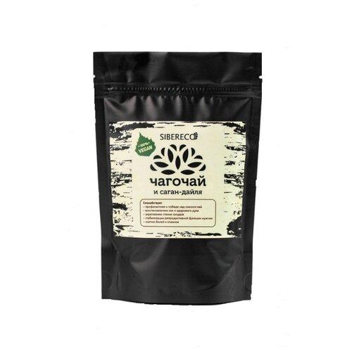 Чайный напиток травяной Sibereco Чагочай и саган-дайля, 100 г чай травяной polezzno саган дайля 50 г
