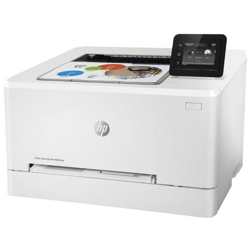 Принтер HP Color LaserJet Pro M255dw белый