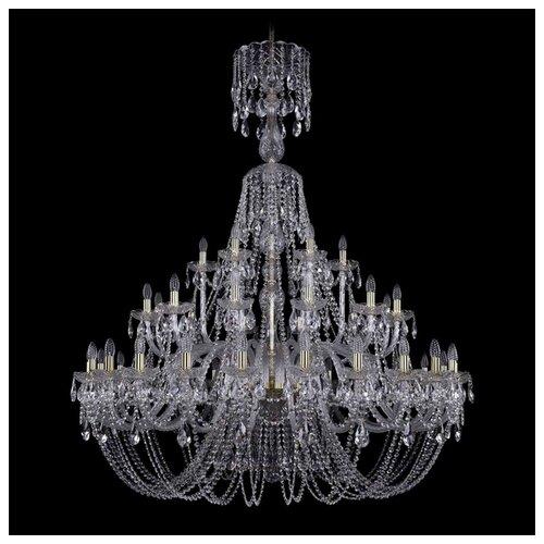 Люстра Bohemia Ivele Crystal 1406 1406/24+12+6/530/XL-160/G, E14, 1680 Вт bohemia ivele crystal 1406 24 12 12 6 530 230 4d g