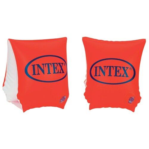 Нарукавники для плавания Intex Deluxe 58642 оранжевый