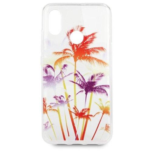 Купить Чехол Pastila Spring picture для Xiaomi Mi 8, Mi 8 Pro разноцветные пальмы