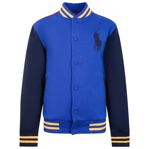 Бомбер Ralph Lauren размер 104, синий поло ralph lauren размер 104 голубой синий