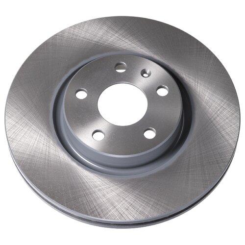 Комплект тормозных дисков передний Febi 24384 312x25 для Audi, SEAT, Skoda, Volkswagen (2 шт.) комплект тормозных дисков передний febi 31767 241x19 для hyundai accent 2 шт