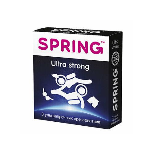 Презервативы Spring Ultra Strong (3 шт.)