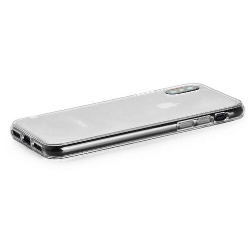 Купить Чехол Gurdini для Apple iPhone Xs Max (силикон плотный прозрачный) бесцветный