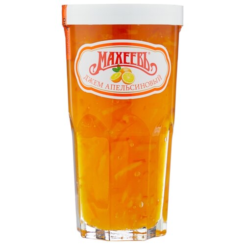 Джем Махеевъ апельсиновый, банка 400 г апельсиновый мармелад шикарный апельсиновый мармеладный джем 10 унций 284 г