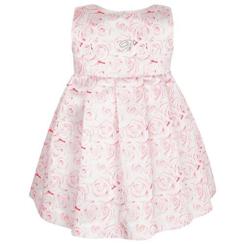 Платье Blumarine размер 74, розовый/цветочный принт