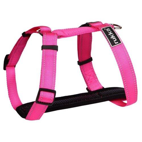 Шлейка для собак RUKKA mini размер XS Розовый 45-70см