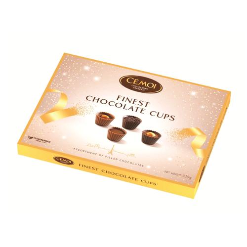 Набор конфет Cemoi Finest Chocolate Cups Чашечки, 335 г