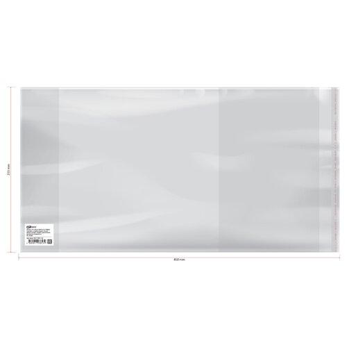 Фото - ArtSpace Набор обложек 233х450 мм, 80 мкм, 50 штук бесцветный artspace набор обложек для учебников 233х450 мм 180 мкм 50 штук бесцветный