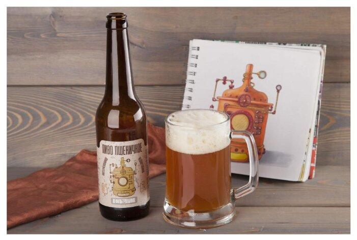Пиво светлое ВкусВилл пшеничное 0.5 л