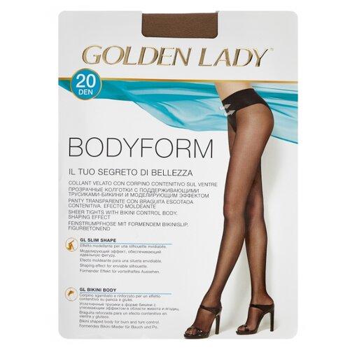 Колготки Golden Lady Bodyform 20 den, размер 3-M, daino (бежевый) колготки golden lady bodyform 20 den размер 4 l daino бежевый