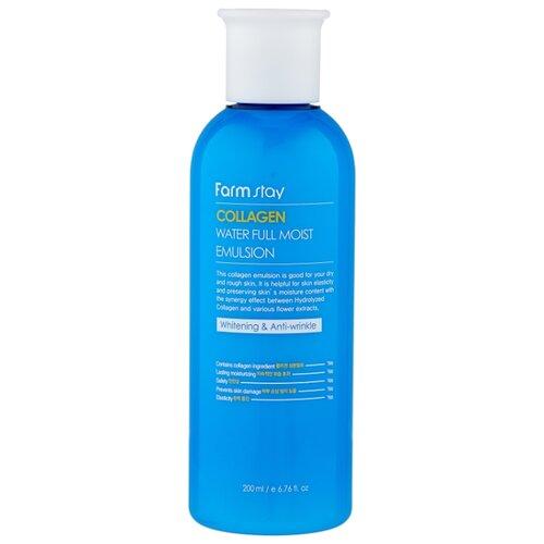 Farmstay Collagen Water Full Moist Emulsion Увлажняющая эмульсия для лица с коллагеном, 200 мл