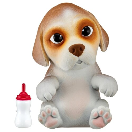 Купить Робот Moose Little Live OMG Pets сквиши-щенок Бигль 28918 белый, Роботы и трансформеры