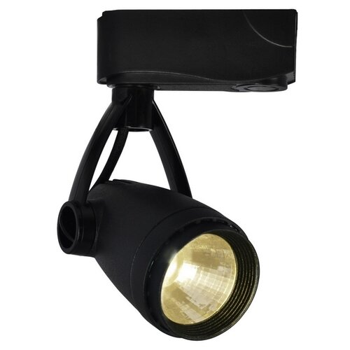 Трековый светильник-спот Arte Lamp Track Lights Black A5910PL-1BK трековый светильник arte lamp track lights a3607pl 1bk