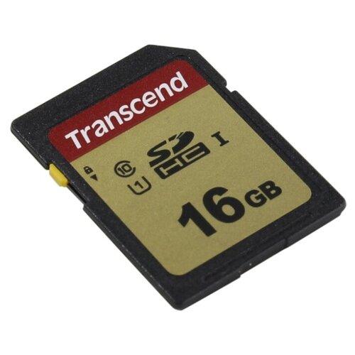 Фото - Карта памяти Transcend 16GB UHS-I U1 SD card карта памяти transcend 16gb uhs i u1 sd card