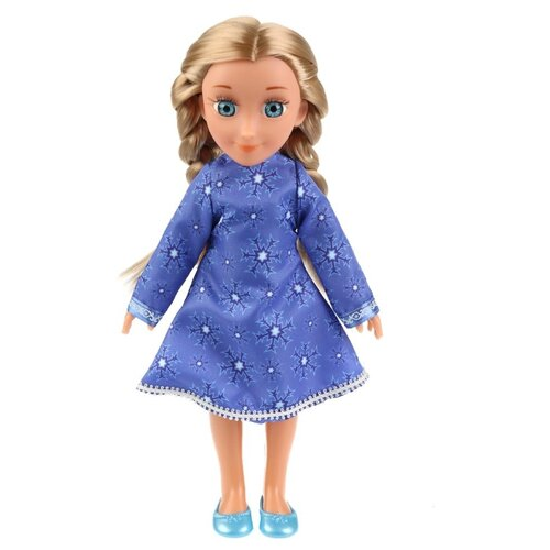 Кукла Карапуз Снежная королева Герда, 32 см, GERDA_32-IC-RU кукла карапуз герда 29 см снежная королева в голубом платье карапуз