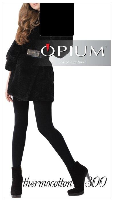 Колготки Opium Thermocotton 300 den — купить по выгодной цене на Яндекс.Маркете