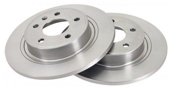 Тормозной диск задний NIPPARTS N3310911 291x12 для Opel, Chevrolet