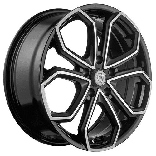 Колесный диск NZ Wheels F-15 7x17/5x112 D66.6 ET43 BKF колесный диск nz wheels sh669 7x17 5x112 d57 1 et43 silver