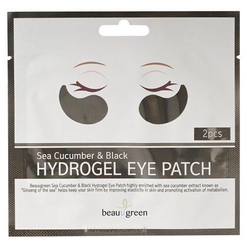 Beauugreen Гидрогелевые патчи Sea Cucumber & Black Hydrogel Eye Patch 4 г (2 шт.) гидрогелевые патчи beauugreen
