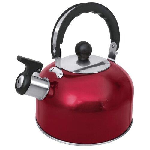 Home Element Чайник со свистком HE-WK1602 2 л, красный рубин чайник home element he kt 174 сталь