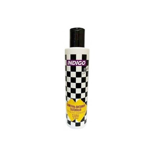 Indigo Style Шампунь-витамин для волос салонный для частого применения 200 мл лучший салонный уход для волос