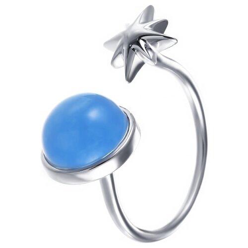 цена на JV Кольцо с 1 халцедоном из серебра C5165R-KO-CH-001-WG, размер 17