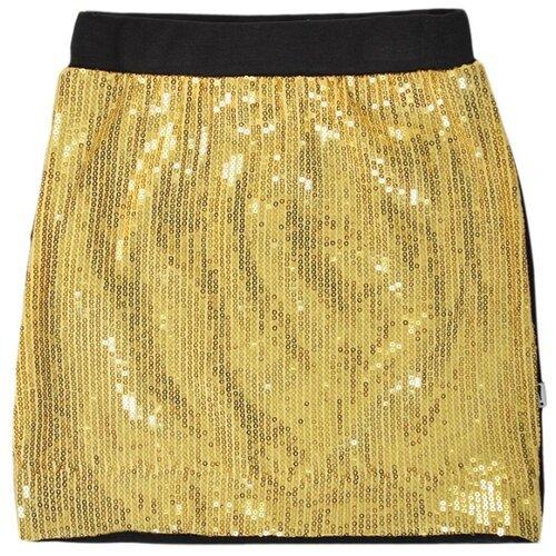 Юбка Nota Bene размер 140, золотой