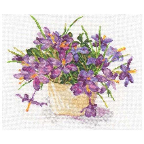 Купить 2-26 Набор для вышивания АЛИСА 'Цветущий сад: Крокусы' 26*29см, Алиса, Наборы для вышивания