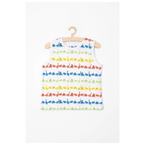 Купить Майка 5.10.15 размер 86, белый, Футболки и рубашки