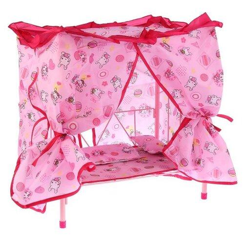 Купить One Six Eight Кровать (CS814) розовый, Мебель для кукол