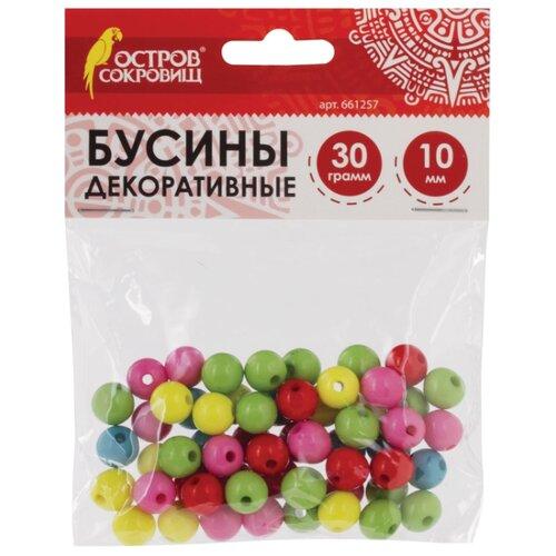 Купить Остров сокровищ бусины Шарики 661257 голубой/желтый/зеленый/красный/розовый, Фурнитура для украшений