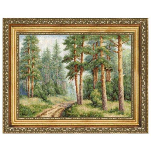 цена на Золотое Руно Набор для вышивания Сосновый бор 22 х 31 см (ВМ-003)