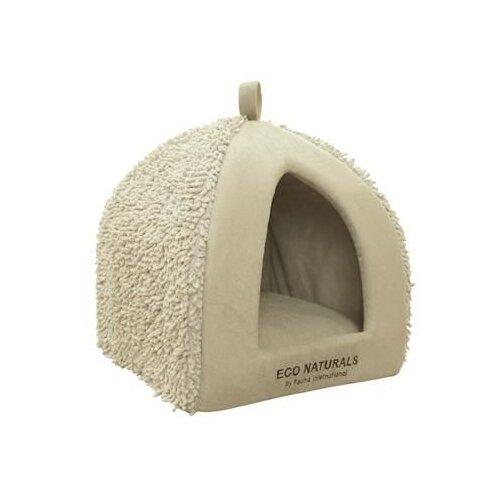 Домик для собак и кошек Fauna International Morata 35х35х40 см бежевый
