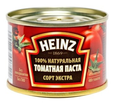 Heinz Томатная паста, жестяная банка