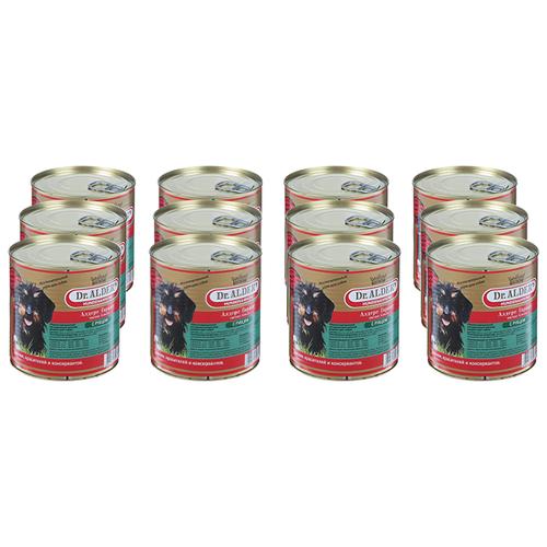 Фото - Влажный корм для собак Dr. Alder`s рубец 12 шт. х 750 г влажный корм для собак dr alder s ягненок 12 шт х 750 г